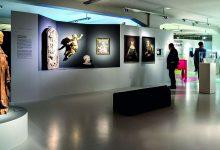 Blick in die Ausstellung SACHSEN BÖHMEN 7000. Foto: Funkelbach. Büro für Architektur und Grafik