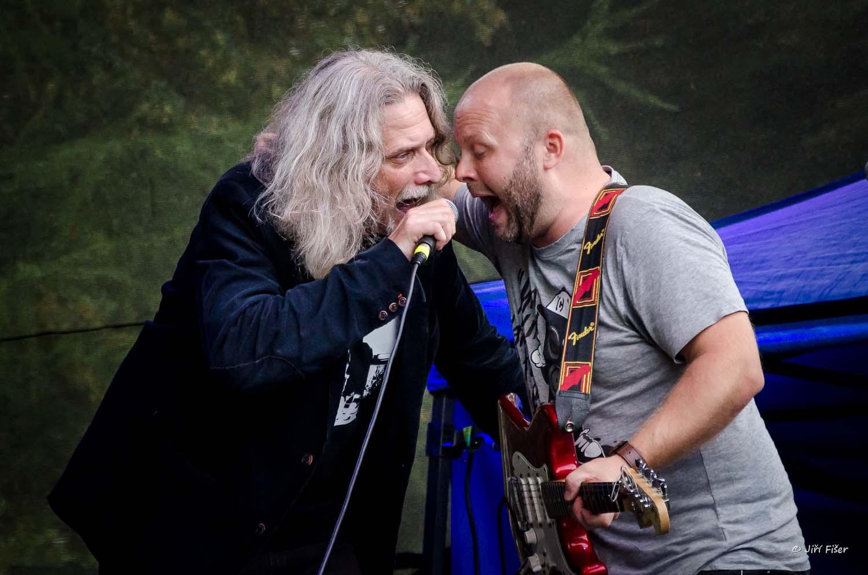 Číst Těl na festivalu Šenovský řev, fotka JIří Fišer