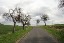 cesta zEncovan do Hrušovan