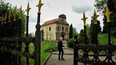 hřbitovní kaple ve Stvolínkách