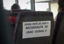 Ve veřejné dopravě se dbá na pořádek
