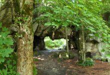 skalní brána u Milštejna