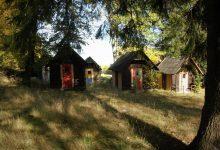 bývalý zlatokopecký tábor (Na Číhané) pod Hrazeným